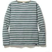 BASQUE BD T-SHIRTS 5002-95202 ライトグレー Sサイズ [長袖Tシャツ ユニセックス]