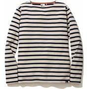 BASQUE BD T-SHIRTS 5002-95202 アイボリー Lサイズ [長袖Tシャツ ユニセックス]