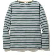 BASQUE BD T-SHIRTS 5002-95202 ライトグレー Lサイズ [長袖Tシャツ ユニセックス]