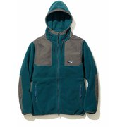 M NIGHTHAWK HOODIE 5002-95214 PEACOCK GREEN Mサイズ [フリース パーカー メンズ]