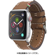 CLB012 [Cozistyle - Leather Band for Apple Watch_42mm Dark Brown]