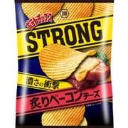 ポテトチップスSTRONG 炙りベーコンチーズ 60g