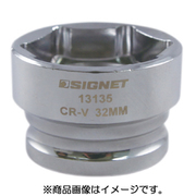 13135 [1/2DR 32mm ショートソケット (6角)]