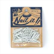 NAILIT釘#17×19 100本袋入り ホワイト