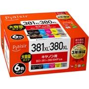PLE-C381XL-6P [BCI-381+380/6MP互換インク]