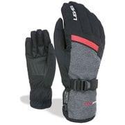 ヒーロー 3367UG.18-3 18 Black-Grey 8-Mサイズ [スキーグローブ]