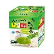 おーいお茶 抹茶入りさらさら緑茶 0.8g×32本 (スティックタイプ) [粉末ティー]
