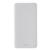 2ポート薄型モバイル充電器10000mAh(ホワイト)