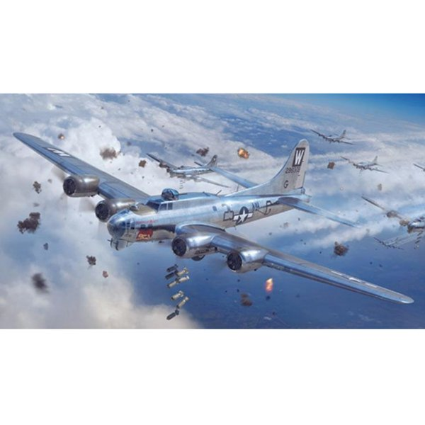 01F001 B-17G フライングフォートレス 前期型 [1/48スケール プラモデル]