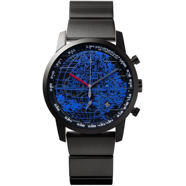 "WNW-SB14A B [wena wrist pro Chronograph Premium Black set/STAR WARS limited edition ""THE DARK SIDE""]"