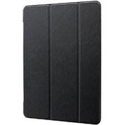 LPITM19CNTBK [iPad 2019 (10.2inch) 背面クリアフラップケース「Clear Note」 ブラック]