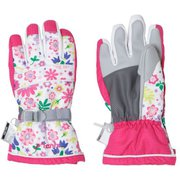 Snow Crystal Kids Gloves PS9H8GL75 WTPKK Lサイズ [スキーグローブ キッズ]