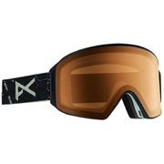 M4 Cylindrical Goggle Asian Fit With Bonus Lens 20340101080 TopoBlack/SONARNight NA [スノー ゴーグル]