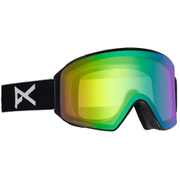 M4 Cylindrical Goggle Asian Fit With Bonus Lens 20340100040 Black / SONAR Green NA [ゴーグル]