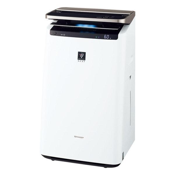 KI-LP100-W [プラズマクラスターNEXT 加湿空気清浄機 COCORO AIR搭載 (プラズマクラスター約23畳まで 加湿26畳まで 空気清浄46畳まで) ホワイト系]