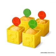 スーパーマリオ ホーム&パーティ マフィンカップ ハテナブロック &ピック スーパーキノコ/1UPキノコ [キャラクターグッズ]