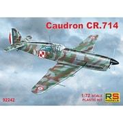 92242 コードロン CR.714 1940年 フランス [1/72スケール プラモデル]