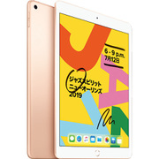 iPad (第7世代) SIMフリー 10.2インチ 128GB ゴールド [MW6G2JC/A]