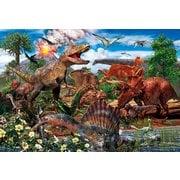 80-016 白亜紀の恐竜 [ジグソーパズル 80ピース]