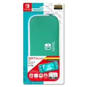 ILXSL301 [Nintendo Switch Lite用ソフトポーチ ターコイズ]