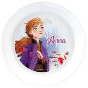 アナと雪の女王2 丸皿 16cm アナ [キャラクターグッズ]