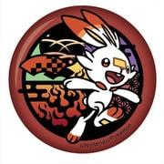 ポケットモンスター 切り絵シリーズ 和紙缶バッジ ヒバニー [キャラクターグッズ]