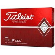 ゴルフボール TRUFEEL(トゥルーフィール) 2ピース ホワイト T6034S-J 2019年モデル [1ダース 12球入]