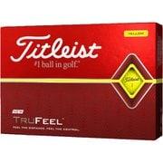 ゴルフボール TRUFEEL(トゥルーフィール) 2ピース イエロー T6134S-J 2019年モデル [1ダース 12球入]