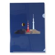 EHC-772-376 [限定 クリアフォルダ 日本ミニチュアワールド 都会の夜景]