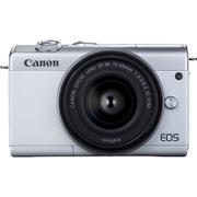 EOS M200 15-45レンズキット ホワイト [ボディ+交換レンズ「EF-M15-45mm F3.5-6.3 IS STM(シルバー)」]