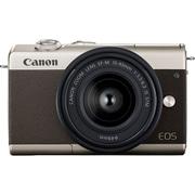 EOS M200 リミテッドゴールドキット [ボディ+交換レンズ「EF-M15-45mm F3.5-6.3 IS STM(グラファイト)」+オリジナルストラップ]