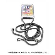 NECKCASEIPH747K [iPhone 8/7用 NECK-CASE ネックストラップ付ケース ブラック]