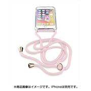 NECKCASEIPH747P [iPhone 8/7用 NECK-CASE ネックストラップ付ケース ピンク]