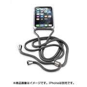 NECKCASEIPHXIK [iPhone 11Pro用 NECK-CASE ネックストラップ付ケース ブラック]