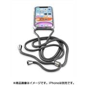 NECKCASEIPHXR2K [iPhone 11用 NECK-CASE ネックストラップ付ケース ブラック]