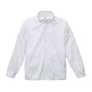 706101-0001 L [マイクロリップストップ スタッフ ジャケット(一重) ホワイト Lサイズ]