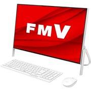FMVF52D3W [デスクトップパソコン ESPRIMO FHシリーズ/23.8型ワイド/Celeron 4205U/メモリ 4GB/SSD 512GB/DVDスーパーマルチ/Windows 10 Home 64ビット/Office Personal 2019/ホワイト]