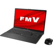FMVAXD3B [ノートパソコン LIFEBOOK AHシリーズ/15.6型ワイド 有機ELディスプレイ/Corei7-9750H/メモリ 8GB/SSD 1TB/Blu-rayドライブ(Ultra HD Blu-ray対応)/Windows 10 Home 64ビット/Office Home and Business 2019/ブライトブラック]