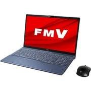 FMVA77D3L [ノートパソコン LIFEBOOK AHシリーズ/15.6型ワイド/Corei7-9750H/メモリ 8GB/SSD 256GB + HDD 1TB/Blu-rayドライブ/Windows 10 Home 64ビット/Office Home and Business 2019/メタリックブルー]