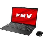 FMVA53D3B [ノートパソコン LIFEBOOK AHシリーズ/15.6型ワイド/Corei7-8565U/メモリ 8GB/SSD 512GB/Blu-rayドライブ/Windows 10 Home 64ビット/Office Home and Business 2019/ブライトブラック]