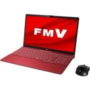 FMVA53D3R [ノートパソコン LIFEBOOK AHシリーズ/15.6型ワイド/Corei7-8565U/メモリ 8GB/SSD 512GB/Blu-rayドライブ/Windows 10 Home 64ビット/Office Home and Business 2019/ガーネットレッド]