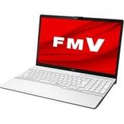 FMVA50D3WP [ノートパソコン LIFEBOOK AHシリーズ/15.6型ワイド/Corei7-8565U/メモリ 4GB/SSD 256GB/DVDスーパーマルチ/Windows 10 Home 64ビット/Office Home and Business 2019/プレミアムホワイト]
