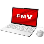 FMVA42D3W [ノートパソコン LIFEBOOK AHシリーズ/15.6型ワイド/Celeron 4205U/メモリ 4GB/SSD 256GB/DVDスーパーマルチ/Windows 10 Home 64ビット/Office Home and Business 2019/プレミアムホワイト]