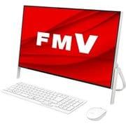 FMVF77D3WC [デスクトップパソコン ESPRIMO FHシリーズ/23.8型ワイド/Corei7-9750H/メモリ 8GB/インテルOptaneメモリー 32GB + SSD 512GB/Blu-rayドライブ/Windows 10 Home 64ビット/Office Home and Business 2019/ホワイト/ヨドバシカメラオリジナルモデル]