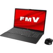 FMVA55D3BC [ノートパソコン LIFEBOOK AHシリーズ/15.6型ワイド/Corei7-8565U/メモリ 8GB/インテルOptaneメモリー 32GB + SSD 512GB/Blu-rayドライブ/Windows 10 Home 64ビット/Office Home and Business 2019/ブライトブラック/ヨドバシカメラオリジナルモデル]