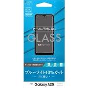 GE2083GA20 [Galaxy A20 ガラスパネル 【AGC製】ブルーライトカット]
