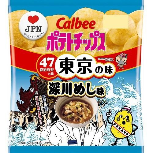 【限定】ポテトチップス深川めし味 55g