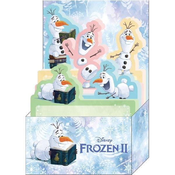 DZ-81015 [BOX付箋 アナと雪の女王2 オラフ]
