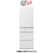NR-E415PVL-W [微凍結パーシャル搭載冷蔵庫 (406L・左開き) 5ドア スノーホワイト]