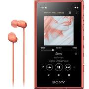 NW-A105HN DM [ポータブルオーディオプレーヤー Walkman(ウォークマン) A100シリーズ 16GB ハイレゾ音源対応 専用ヘッドホン付 オレンジ]